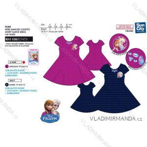 Šaty letní frozen ledové království dětské dívčí (4-8 let) SUN CITY RH1108