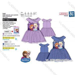 Šaty letní frozen ledové království dětské dívčí (3-6 let) SUN CITY RH1106