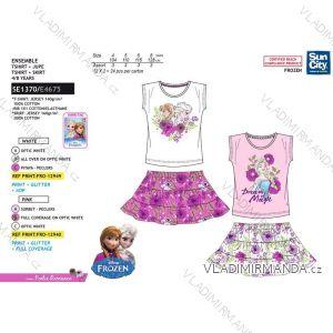 Souprava tričko a sukně frozen dětská dívčí (4-8 let) SUN CITY SE1370
