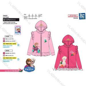 Mikina s kapucí frozen dětská dívčí  (4-8 let) SUN CITY SE1375