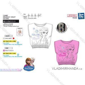 Tričko krátký rukáv frozen ledové království dětské dívčí (4-8 let) SUN CITY SE1115