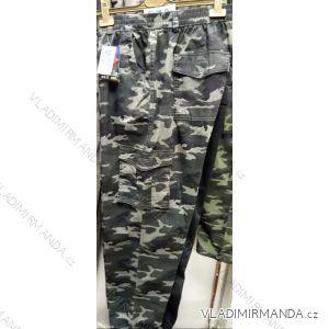 Kalhoty pánské maskáčové nadrozměrné (l-3xl) BAT19QNAM-RAN-RI-1