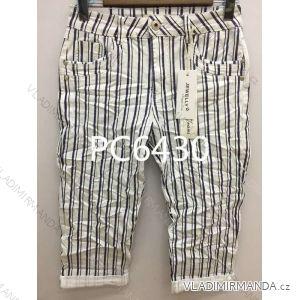 Kalhoty 3/4 dámské (xs-xl) JEWELLY LEXXURY MA519PC6430
