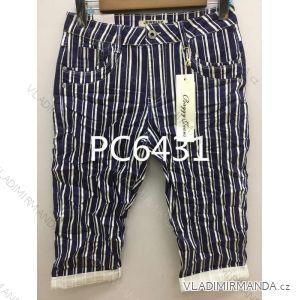 Kalhoty 3/4 dámské (xs-xl) JEWELLY LEXXURY MA519PC6431