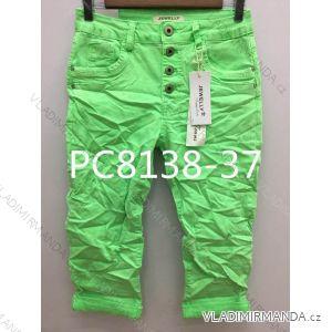 Kalhoty 3/4 dámské (xs-xl) JEWELLY LEXXURY LEX19PC8138-37
