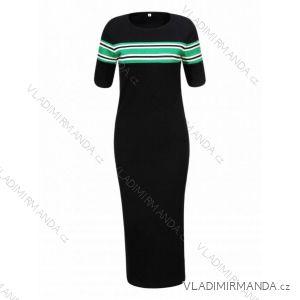 Šaty úpletové krátký rukáv dámské (s/xl) GLO-STORY WYQ-8828