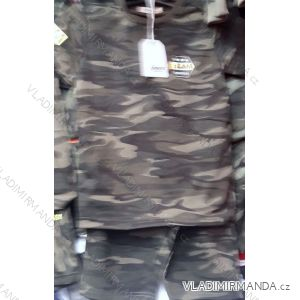 Souprava triko a kraťasy maskáčové dorost chlapecká (134-164) SINCERE TM219LL-2687