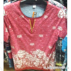 Tunika tričko krátký rukáv dámská (L-3XL) TOVTA SY150
