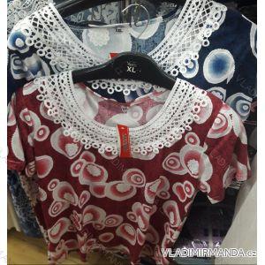 Tričko krátký rukáv dámské (l-3xl) WANDENG B-14080-NSY