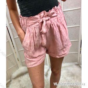 Kraťasy šortky letní dámské (uni s/m) ITALSKá MóDA IM719324
