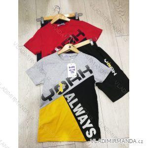 Souprava tričko krátký rukáv+kraťasy dětská dorost chlapecká (116-146) GRACE MA31982399