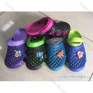 Pantofle kroksy nazouváky dětské (24-29) RISTAR RIS19035