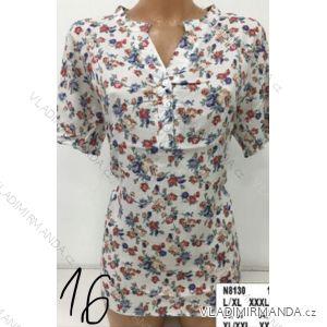 Tunika košile krátký rukáv dámské (L-3XL) ERBOSSI PM119062