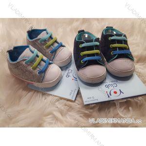 Capáčky botičky kojenecké chlapecké (0-6, 6-12m) YO! OB-067