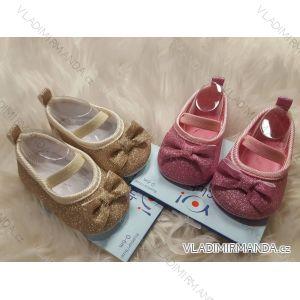 Capáčky botičky kojenecké dívčí (0-6, 6-12m) YO! OB-070