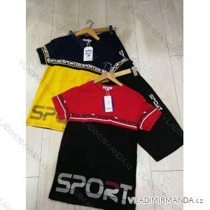 Souprava tričko krátký rukáv+kraťasy dětská chlapecká (134-164) GRACE GRA1982403