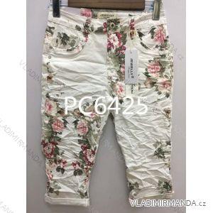 Kalhoty 3/4 dámské (xs-xl) JEWELLY LEXXURY MA519PC6425