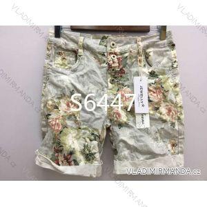 Kalhoty 3/4 dámské (xs-xl) JEWELLY LEXXURY MA519S6447