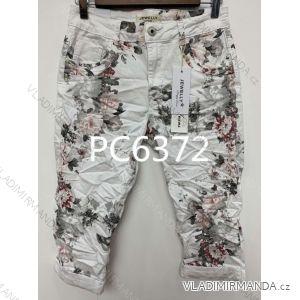 Kalhoty 3/4 dámské (xs-xl) JEWELLY LEXXURY MA519PC6372