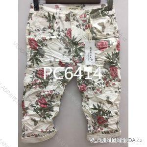 Kalhoty 3/4 dámské (xs-xl) JEWELLY LEXXURY MA519PC6414