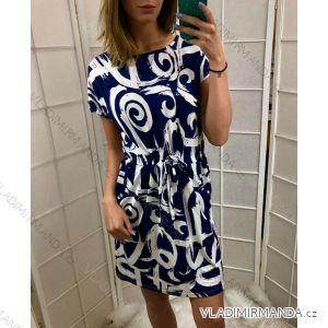 aab1b4638f67 Šaty letní krátký rukáv dámské (L-XXXL) POLSKÁ MóDA PM519002