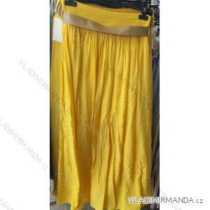 Sukně dlouhá letní dámská s páskem (uni s/m) ITALSKá MóDA IM919680