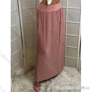 Sukně dlouhá letní dámská s páskem (uni s/m) ITALSKá MóDA IM719681