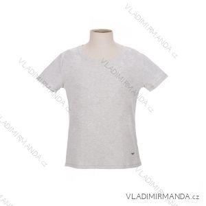 Tričko krátký rukáv dámské bavlněné (m-xxxl) WOLF D2622