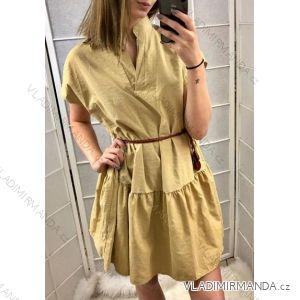 53ef373da99d Šaty košilové krátký rukáv dámské (uni s m) ITALSKá MóDA IMT19416