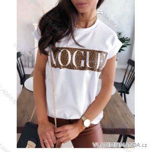 Tričko krátký rukáv dámské Vogue (uni s/m)  ITALSKá MóDA IM119171