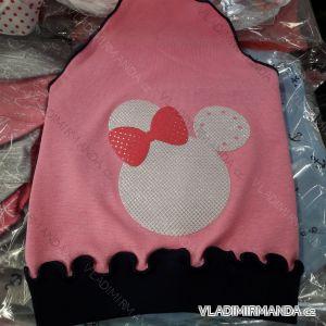 Čepice šátek tenká jarní dětská dívčí (3-8 let) POLSKÁ VÝROBA PV319273