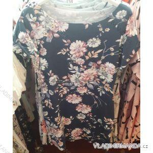 Šaty letní krátký rukáv dámské  (uni s/m) ITALSKá MóDA IM219089