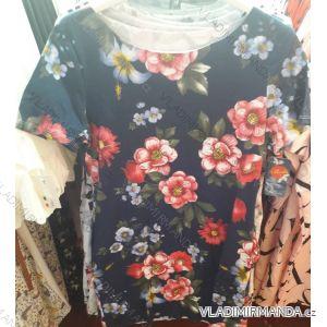 Šaty letní krátký rukáv dámské  (uni s/m) ITALSKá MóDA IM219090