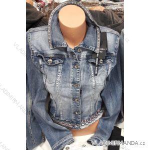 Bunda riflová jeans dámská (s-2xl) Ytaimaska MA119CY-136