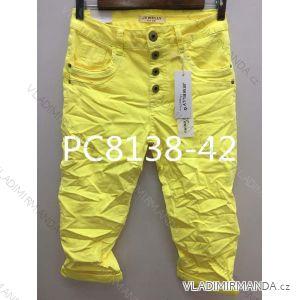 Kalhoty 3/4 dámské (xs-xl) JEWELLY LEXXURY LEX19PC8138-42