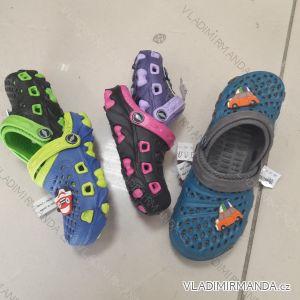 Pantofle nazouváky dětské dívčí a chlapecké (24-29) XSHOES OBUV OBX19007