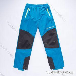 Kalhoty šusťákové slabé dorost chlapecké (134-164) WOLF B2873