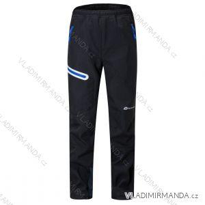 Kalhoty softshellové zateplené fleecem dorost (140-170) WOLF B2897