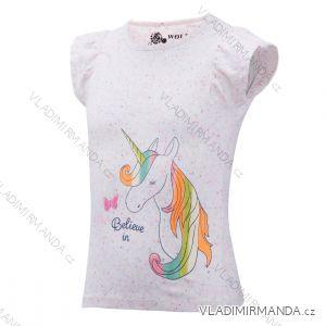 Tričko krátký rukáv dětské dívčí (98-128) WOLF S2921
