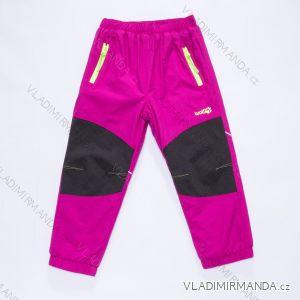 Kalhoty šusťákové zateplené kojenecké chlapecké dívčí (80-92) WOLF B2871W