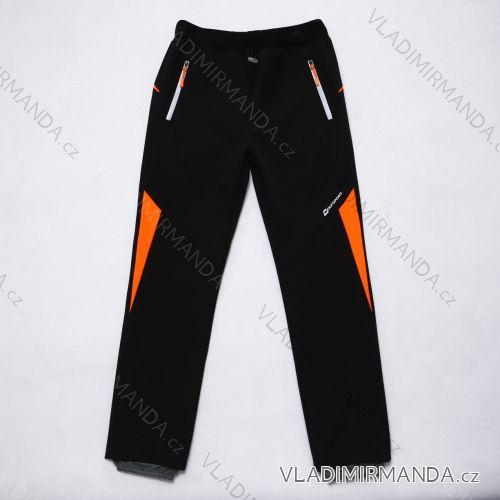 Kalhoty  slabé jarní softshellové dětské chlapecké   (116-146) WOLF B2984