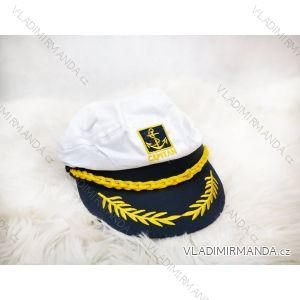 Námořnická kapitánská čepice kšiltovka pásnká (uni) POLSKÁ VÝROBA PV519C1-58