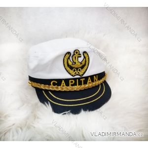 Námořnická kapitánská čepice kšiltovka pásnká (uni) POLSKÁ VÝROBA PV519C1-59