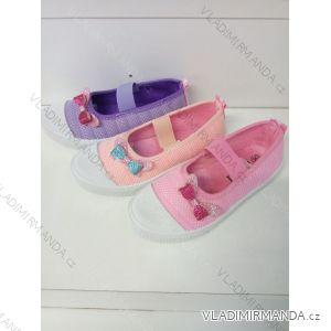 Cvičky bačkůrky dětské dorost dívčí (28-33) LSHOES OBUV OBL19029