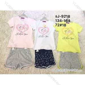Souprava letní tričko a kraťasy dorost dívčí (134-164) ACTIVE SPORTS ACT19SJ-9218