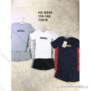 Souprava letní tričko a kraťasy detske az dorost chlapecká (116-146) ACTIVE SPORTS ACT19HZ-6945