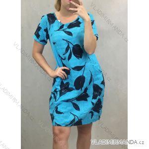 Šaty krátký rukáv dámské (uni M-L) ITALSKá MóDA IM419817IM1
