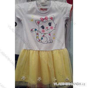 Šaty dětské dívčí (98-128) GLASS BEAR ACT198P-7263