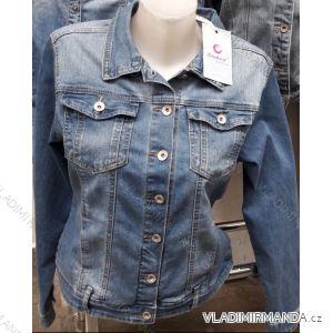Bunda riflová jeans dámská (l-4xl) MOON GIRL SUN219GY9396