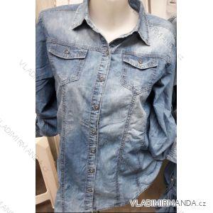 Košile riflová dámská (l-4xl) MOON GIRL SUN219YD965